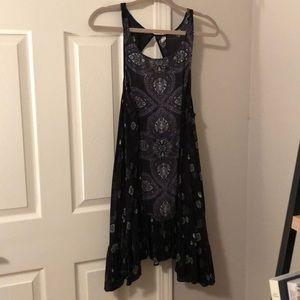 Free People Black intimately Slip dress